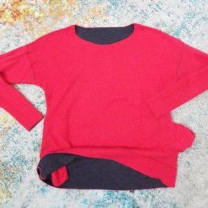 Victoria's Secret REVERSIBLE Sweatshirt /w POCKETS